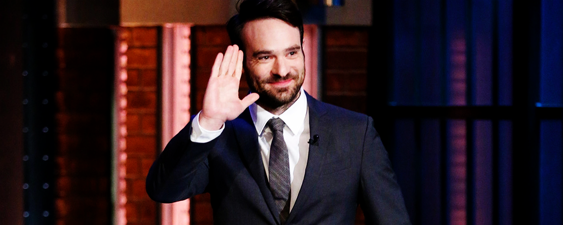 "Charlie Cox – 04/01/2015 ""Late Night With Seth Meyers"""