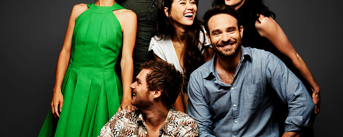 """Charlie & """"The Defenders"""" At The 2017 SDCC"""