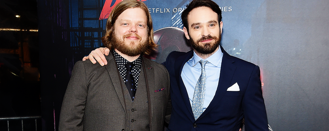 "Charlie & Elden Henson Answer Questions About ""Daredevil"""